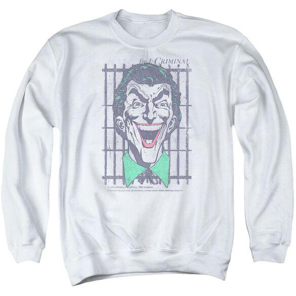 Dc Criminal Adult Crewneck Sweatshirt