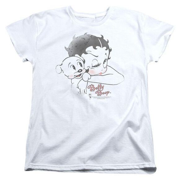 Betty Boop Vintage Wink Short Sleeve Womens Tee T-Shirt