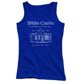 White Castle By The Sack-juniors Tank Top
