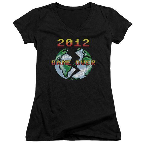 Game Over Junior V Neck T-Shirt