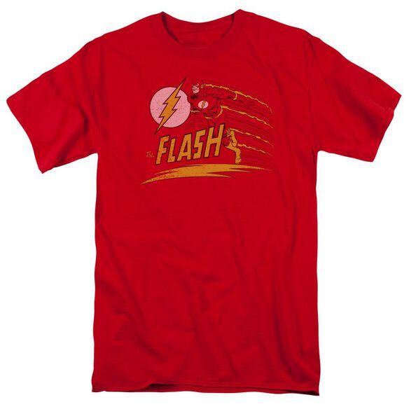Dc Like Lightning Short Sleeve Adult Red T-Shirt