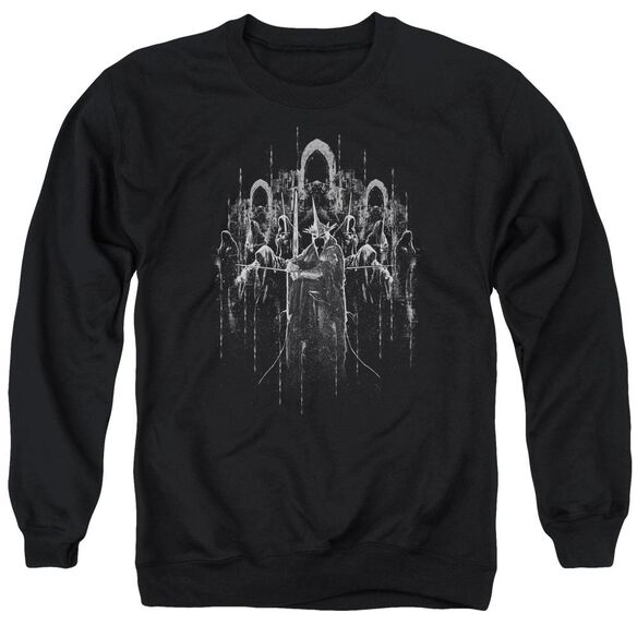 Lord Of The Rings The Nine Adult Crewneck Sweatshirt