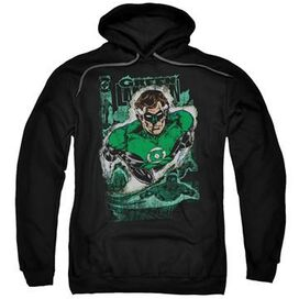 Green Lantern Return Cover Pullover Hoodie