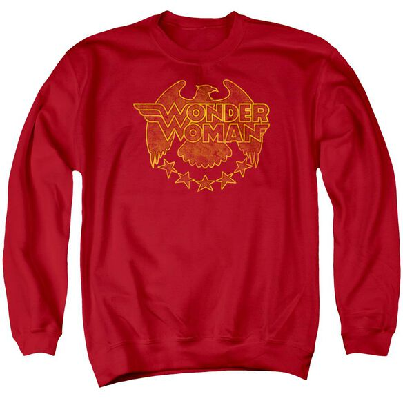 Dc Wonder Eagle Adult Crewneck Sweatshirt