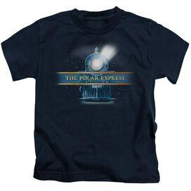 Polar Express Train Logo Short Sleeve Juvenile T-Shirt