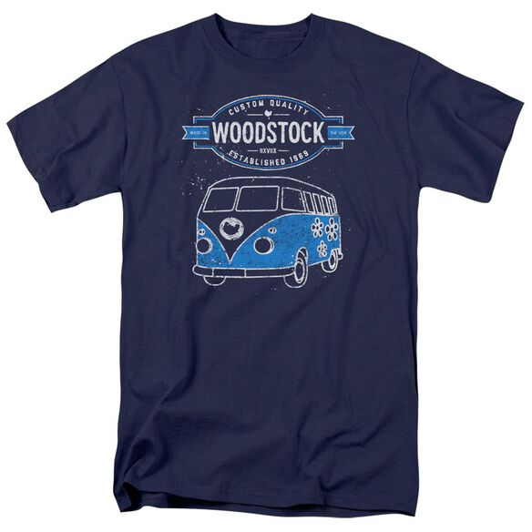 Woodstock Van Short Sleeve Adult T-Shirt