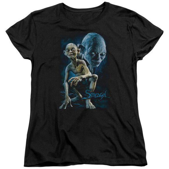 Lor Smeagol Short Sleeve Womens Tee T-Shirt