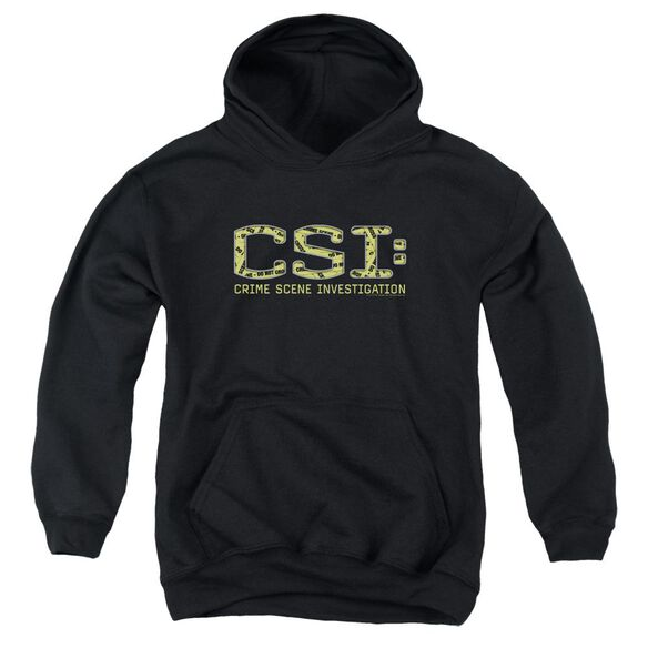 Csi Collage Logo Youth Pull Over Hoodie