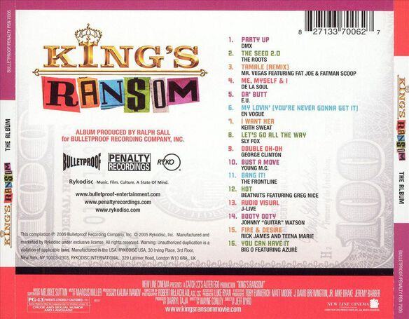 King's Ransom:Music I0405