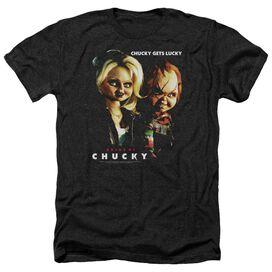 Bride Of Chucky Chucky Gets Lucky - Adult Heather - Black
