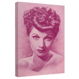 Lucille Ball Belle Of The Ball Quickpro Artwrap Back Board