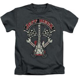 Jeff Beck Beckabilly Guitar Short Sleeve Juvenile T-Shirt