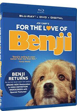 For the Love of Benji - BD + DVD + Digital