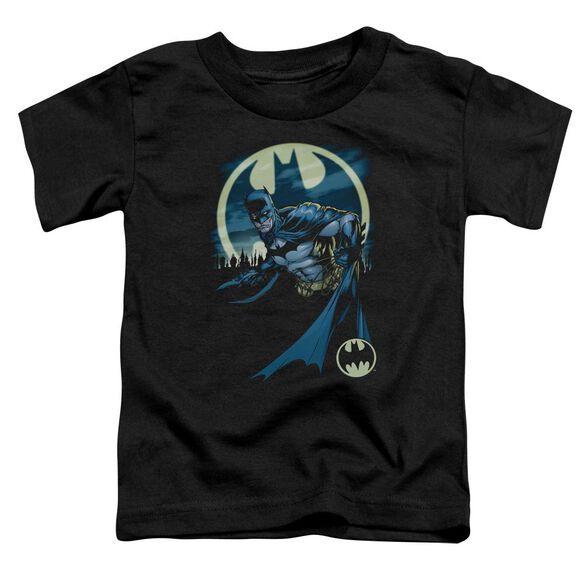 Batman Heed The Call Short Sleeve Toddler Tee Black Md T-Shirt
