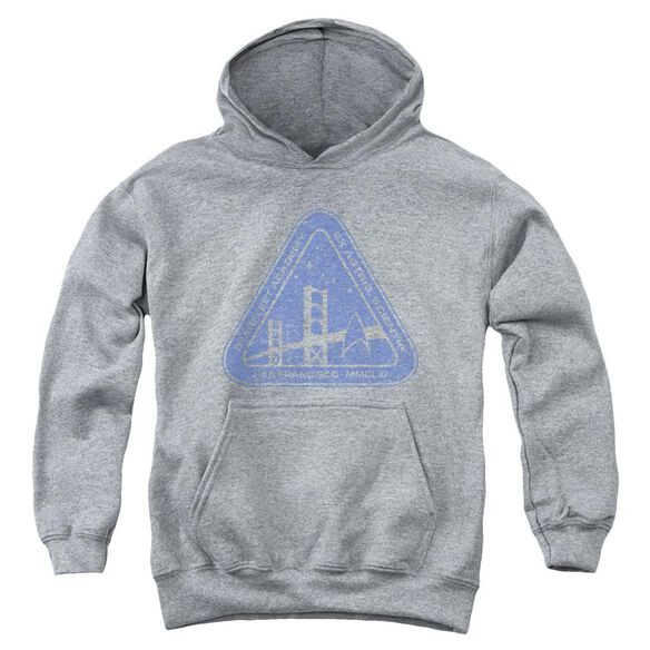 Star Trek Distressed Logo Youth Pull Over Hoodie