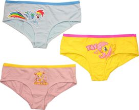 My Little Pony Dash Muffins Yay 3 Pack Panty Set