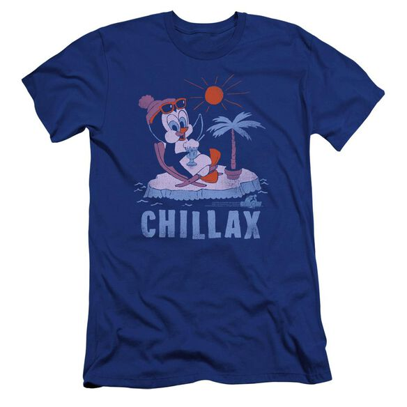 Chilly Willy Chillax Premuim Canvas Adult Slim Fit Royal