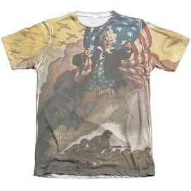 ARMY VINTAGE POSTER-ADULT POLY/COTTON T-Shirt