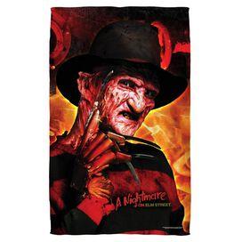 Nightmare Of Elm Street Freddys Boiler Room Face Hand Towel