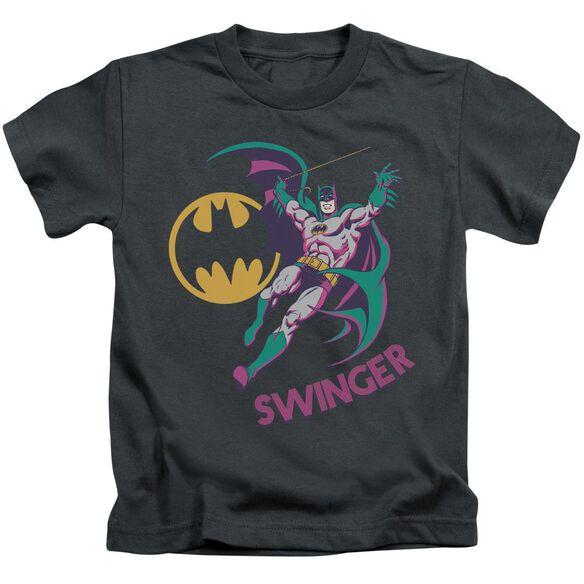 Dco Swinger Short Sleeve Juvenile Charcoal T-Shirt