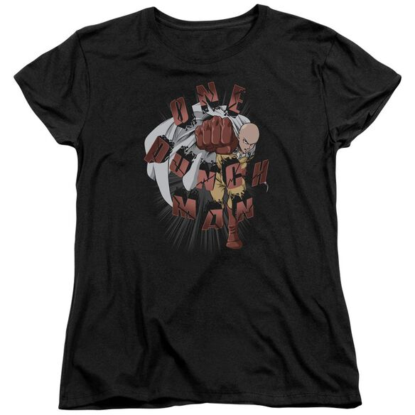 One Punch Man One Punch Short Sleeve Womens Tee T-Shirt
