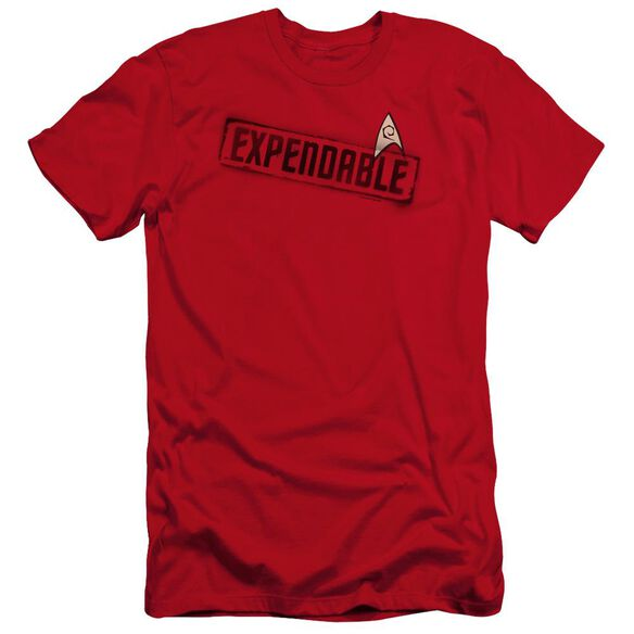 Star Trek Expendable Premuim Canvas Adult Slim Fit