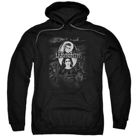 Labyrinth Maze Adult Pull Over Hoodie