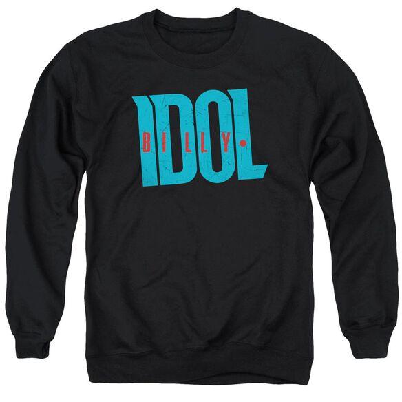 Billy Idol Logo Adult Crewneck Sweatshirt