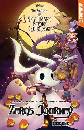 Nightmare Before Christmas - Zero's Journey Volume 1 [FYE Exclusive Cover art by Camilla d'Errico]