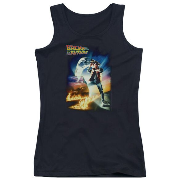 Back To The Future Poster Juniors Tank Top