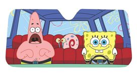 Spongebob Car Shade