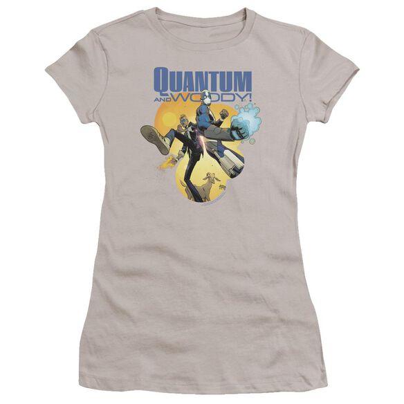 Quantum And Woody Three's A Crowd Premium Bella Junior Sheer Jersey