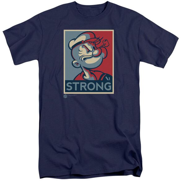Popeye Strong Short Sleeve Adult Tall T-Shirt