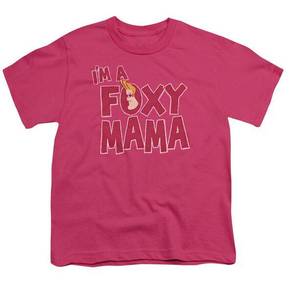 Johnny Bravo Foxy Mama Short Sleeve Youth Hot T-Shirt