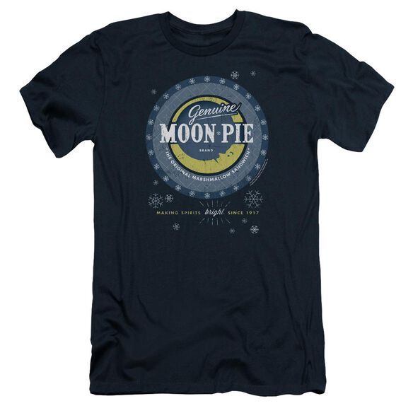 Moon Pie Snowing Moon Pies Short Sleeve Adult T-Shirt