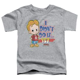 Archie Babies Not Yet Short Sleeve Toddler Tee Athletic Heather Md T-Shirt