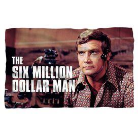 Six Million Dollar Man Steve Austim Fleece Blanket