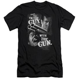 Army Of Darkness Guy With The Gun-premuim Canvas Adult Slim