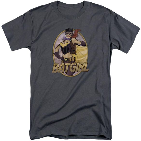Jla Batgirl Bombshell Short Sleeve Adult Tall T-Shirt