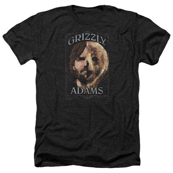 Grizzly Adams Half Bear Adult Heather