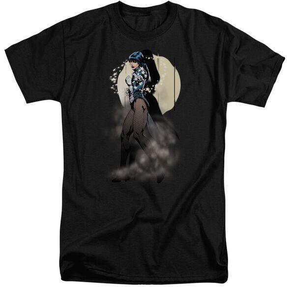 Jla Zatanna Illusion Short Sleeve Adult Tall T-Shirt