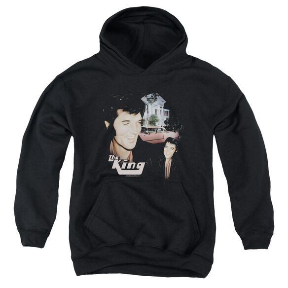 Elvis Presley Home Sweet Home Youth Pull Over Hoodie