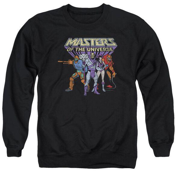 Masters Of The Universe Team Of Villains Adult Crewneck Sweatshirt