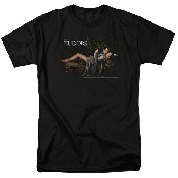 TUDORS THE KING AND HIS QUEEN - S/S ADULT 18/1 - BLACK T-Shirt