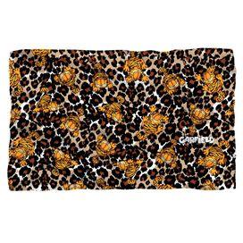 Garfield Wild Cat Fleece Blanket