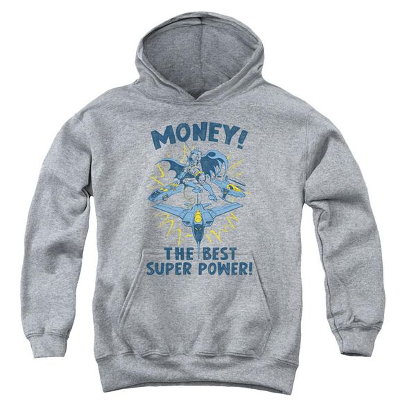 Dc Money-youth Pull-over Hoodie - Heather