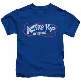 Astro Pop Vintage Logo Short Sleeve Juvenile Royal T-Shirt