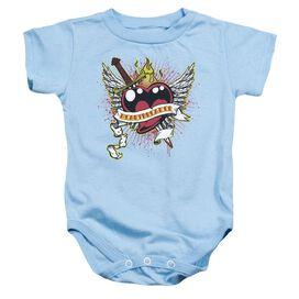Heartbreaker - Infant Snapsuit - Light Blue - Lg
