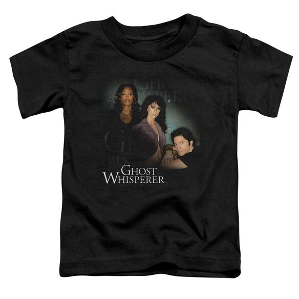 Ghost Whisperer Diagonal Cast Short Sleeve Toddler Tee Black Md T-Shirt