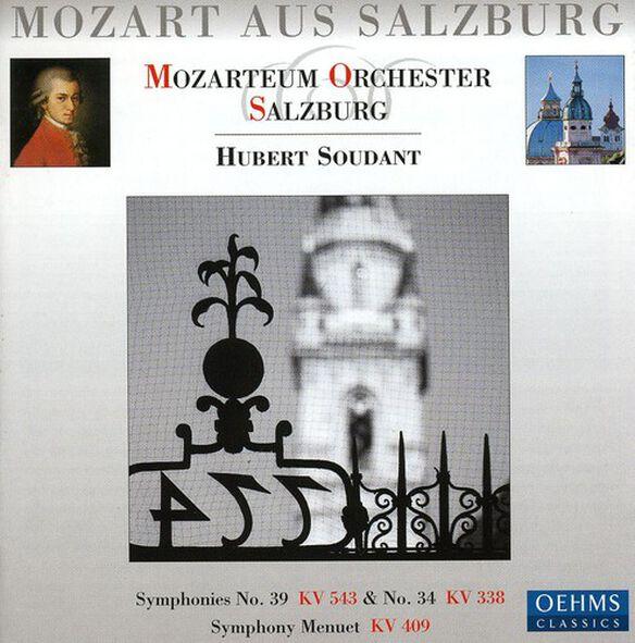 W.a. Mozart - Symphonies 39 & 34: Mozart Aus Salzburg 1
